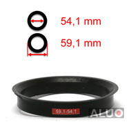 4 anelli di centraggio 79,6 mm 74,1 mm